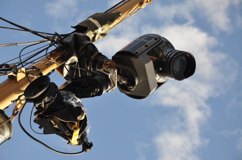 Nrk sitt fantastiske  Cine-Flexkamera